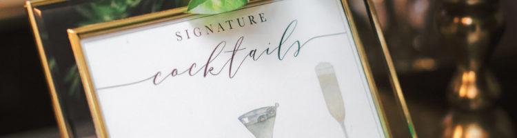 Cute Signature Cocktail Names - Whimsique Invitations